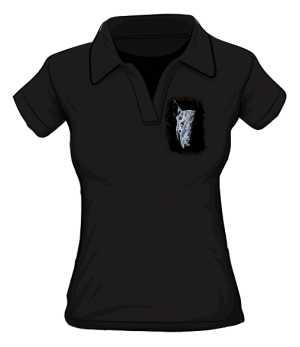 Koszulka Damska Polo Bullterrier