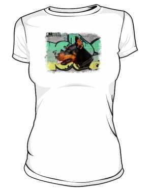 Koszulka damska Doberman