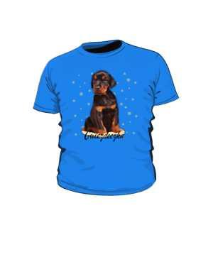 Koszulka dziecięca doberman