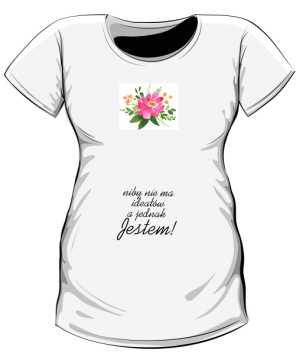 Koszulka ciążowa Kwiat