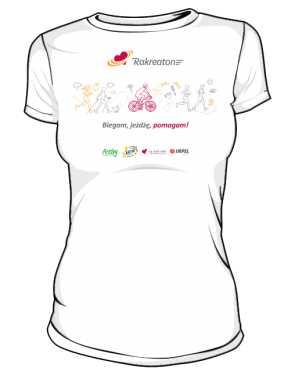 Koszulka damska bawełniana RakReaton