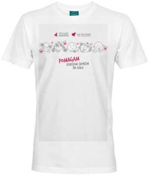 Koszulka męska Pomagam dzieciom