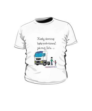 Koszulka dziecięca biała wzór 02