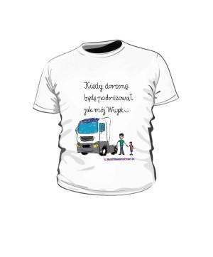 Koszulka dziecięca biała wzór 04