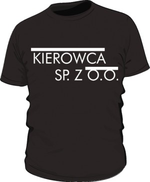 Koszulka męska czarna wzór 15