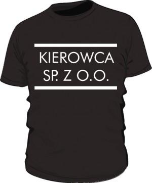 Koszulka męska czarna wzór 16