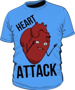 Heart Attack Niebieska