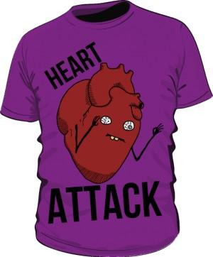 Heart Attack Fioletowa