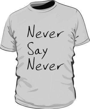 Podkoszulek KMR Squad Never Say Never