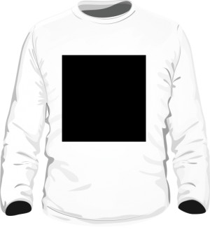 Chaos long sleeve bialy