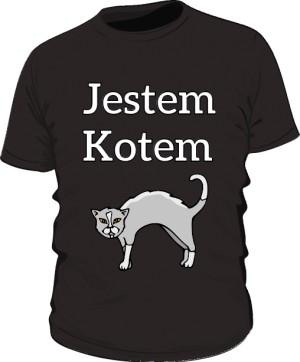 Podkoszulek Kot Jestem Kotem