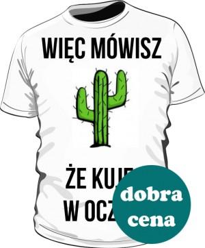 Koszulka kaktus męska