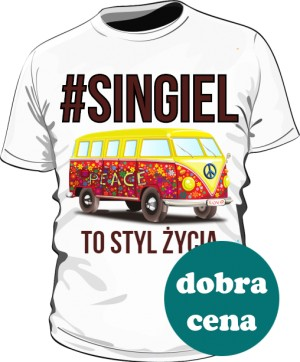 Koszulka SINGIEL marki HashTag