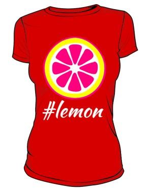 Koszulka lemon marki HashTag
