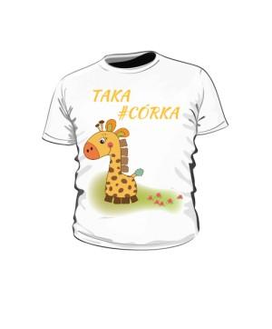 Koszulka dziecięca córka marki HashTag