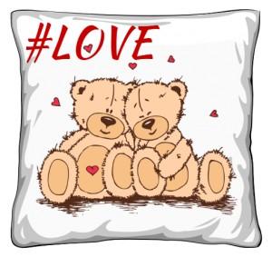 Poduszka dla dwoje LOVE