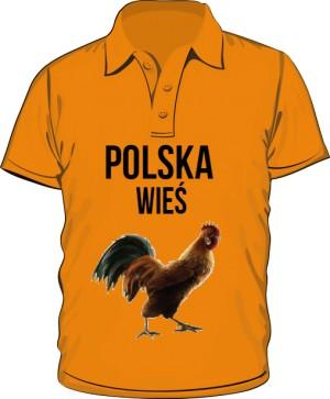 koszulka męska polska wieś
