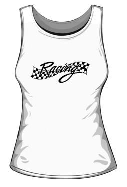 Koszulka Damska Bez Rękawków Racing