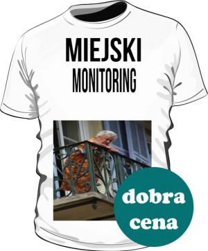 koszulka męska miejski monitoring