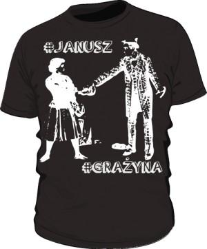 Koszulka serii JANUSZ i GRAŻYNA