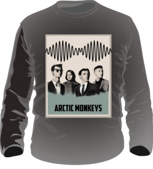Long sleeve męski z Arctic Monkeys