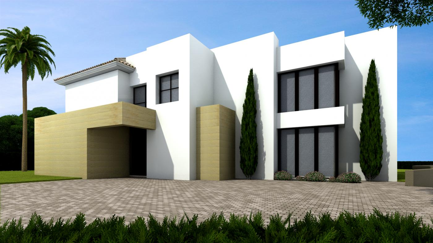 5 Bedroom contemporary villa for Sale in Estepona |
