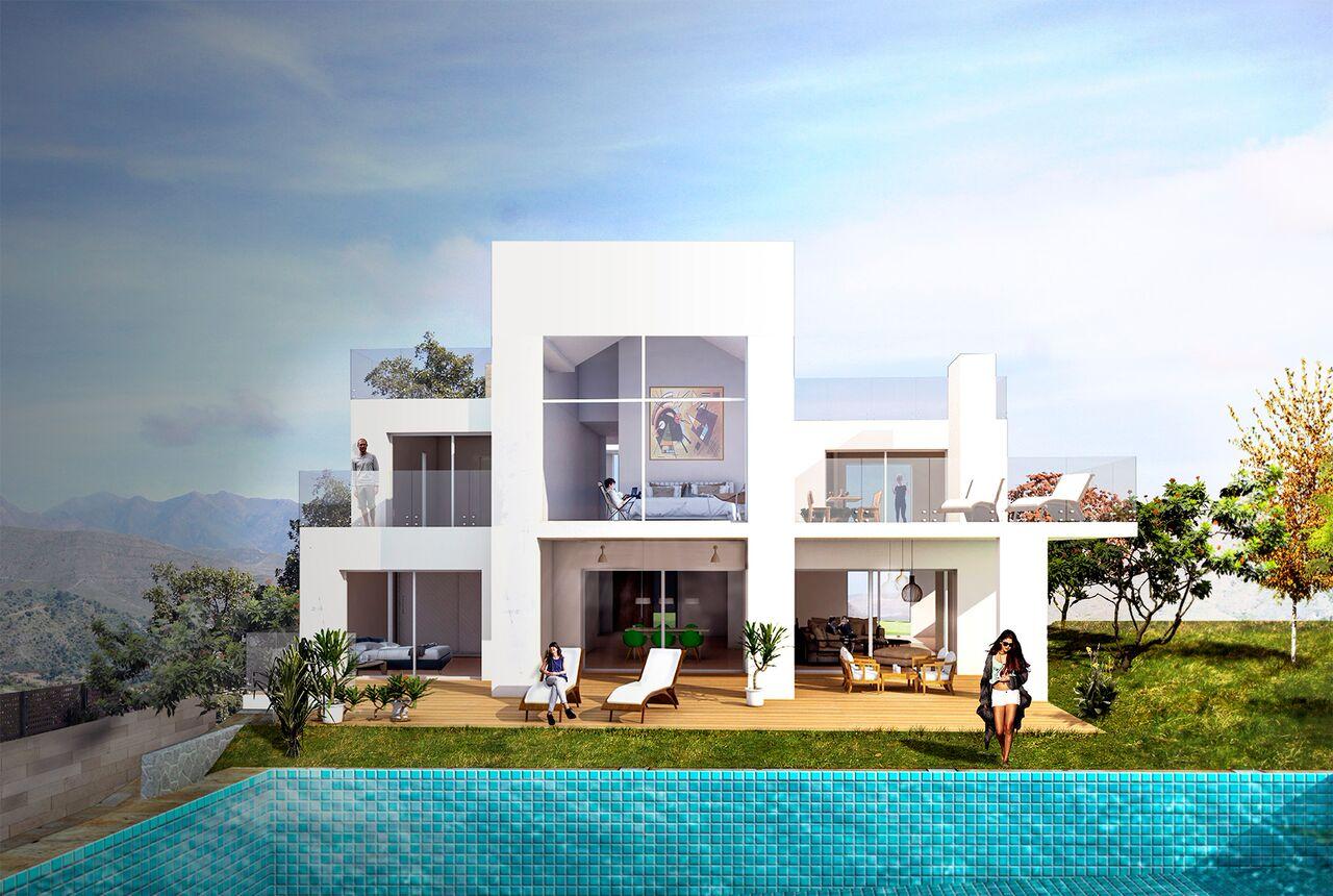 4 Bedroom contemporary villa for Sale in Marbella |