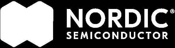 Logo white Nordic