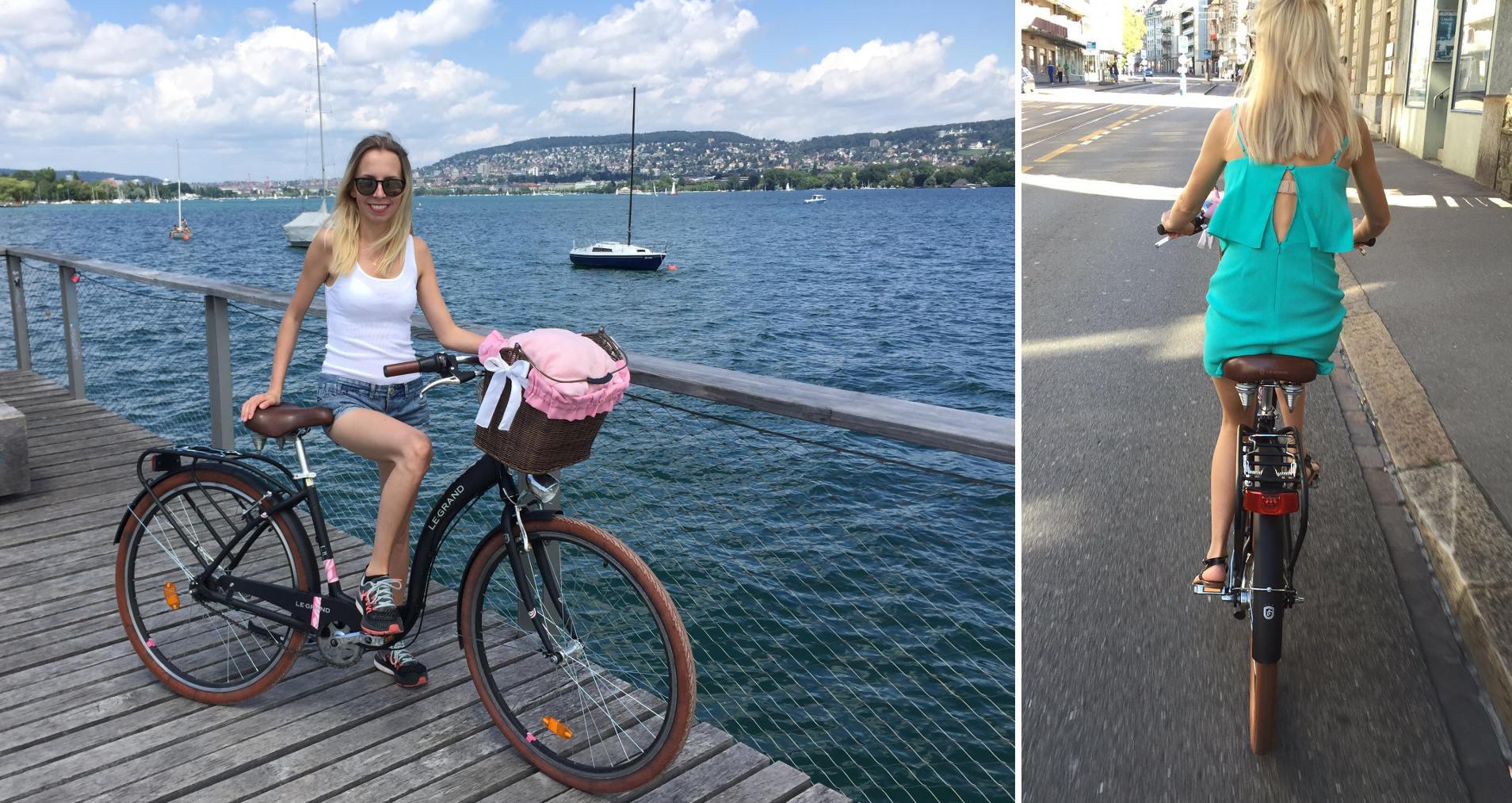 Zurych na rowerze iglawpodrozy