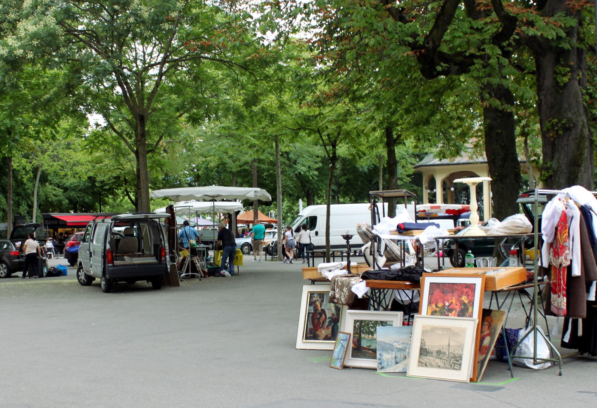 pchli targ Bürkliplatz Zurych Szwajcaria iglawpodrozy