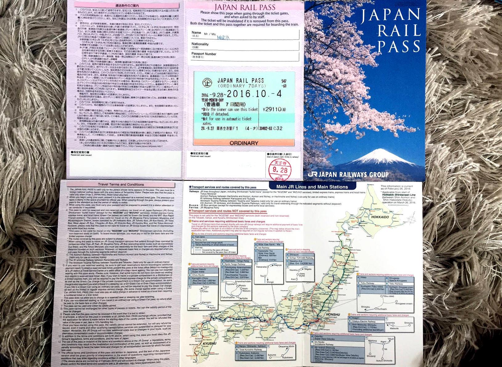 japonia pociag bilet railpass iglawpodrozy