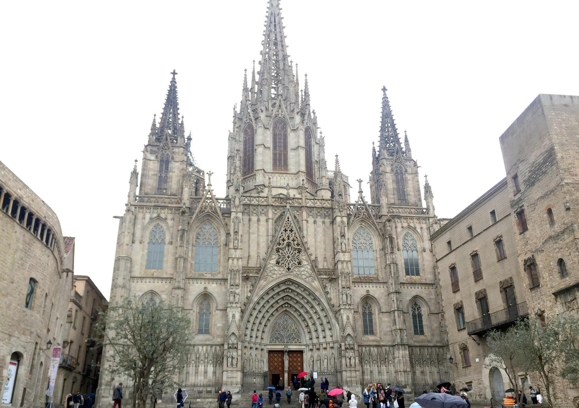 barcelona gotyk katedra sw eulalii iglawpodrozy