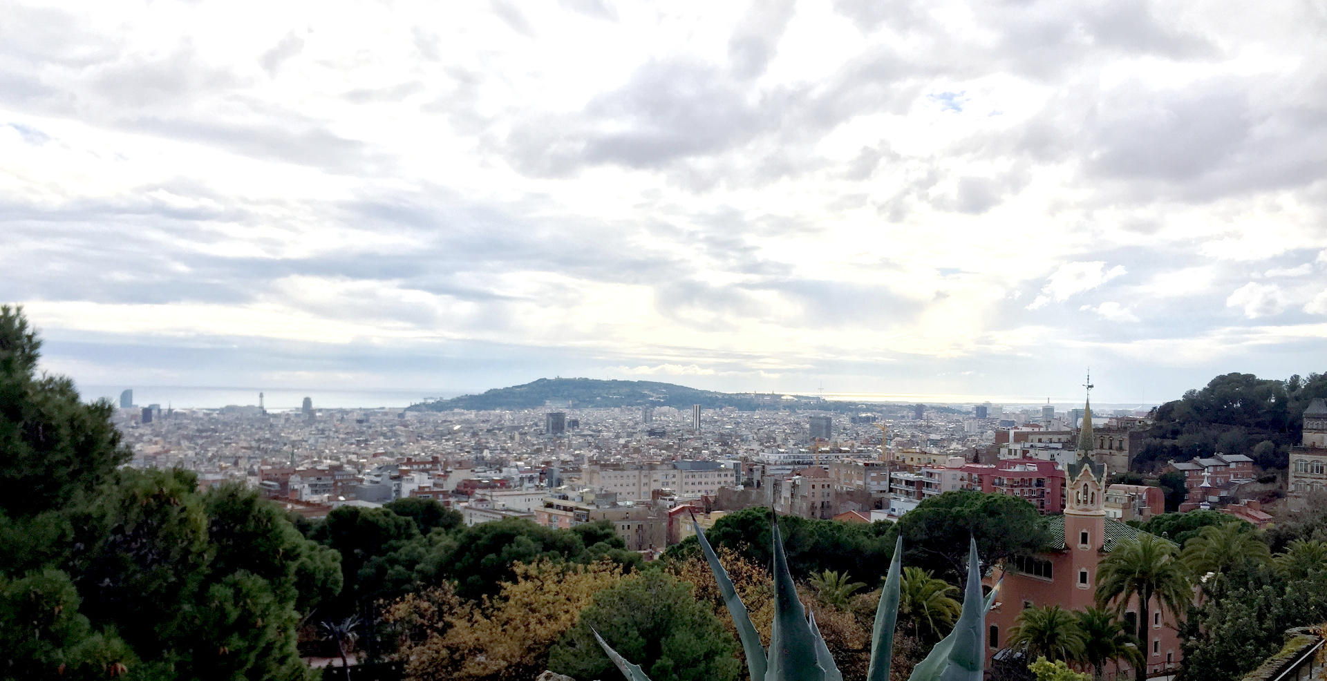 barcelona miasto widok panorama iglawpodrozy