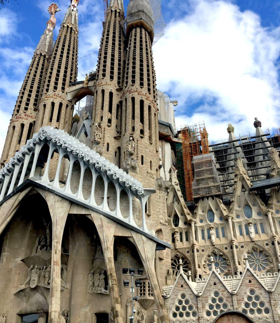 barcelona sagrada familia zabytki
