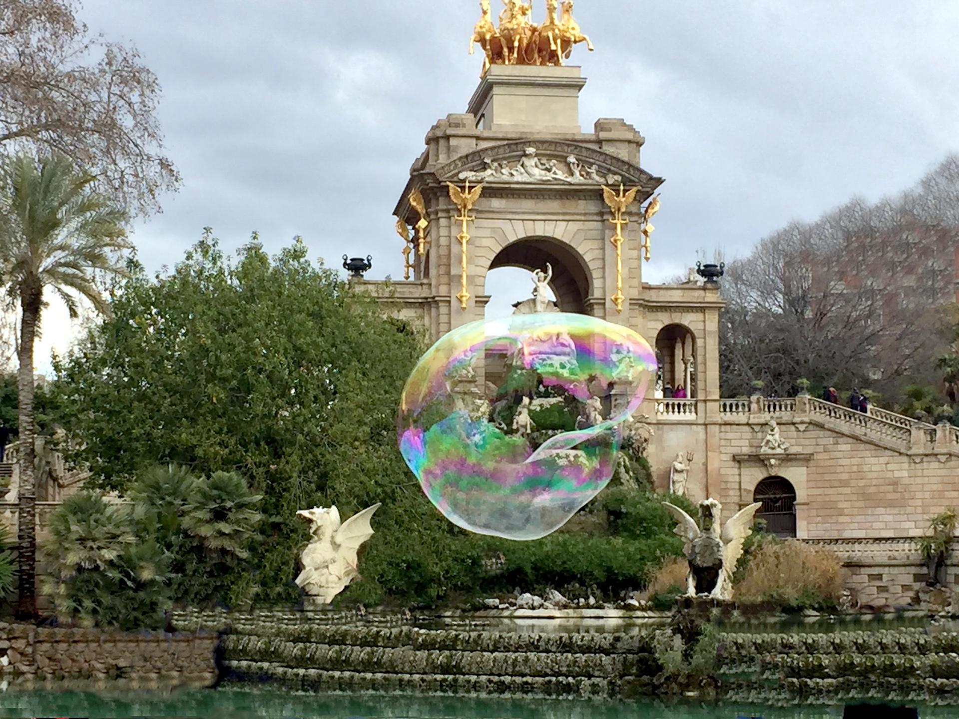 barcelona park parc de la ciutadella iglawpodrozy