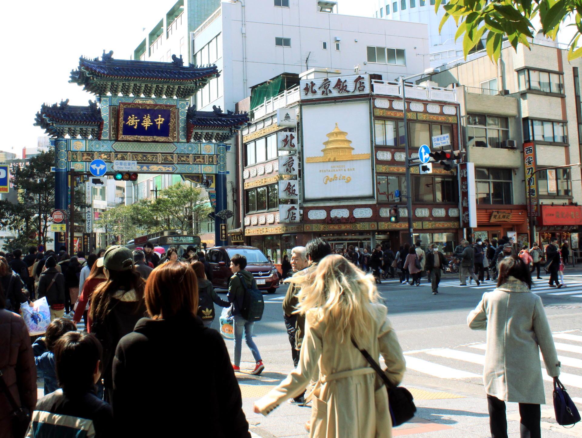 yokohama brama chinatown iglawpodrozy