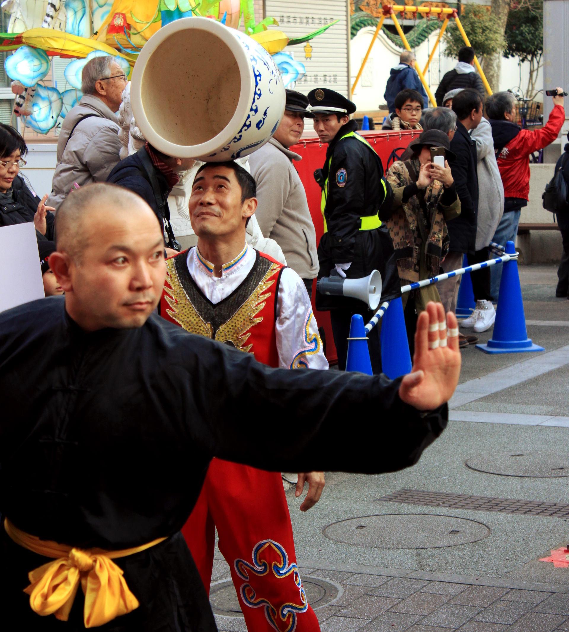 yokohama święto nowy rok parada chinatown chinska dzielnica iglawpodrozy