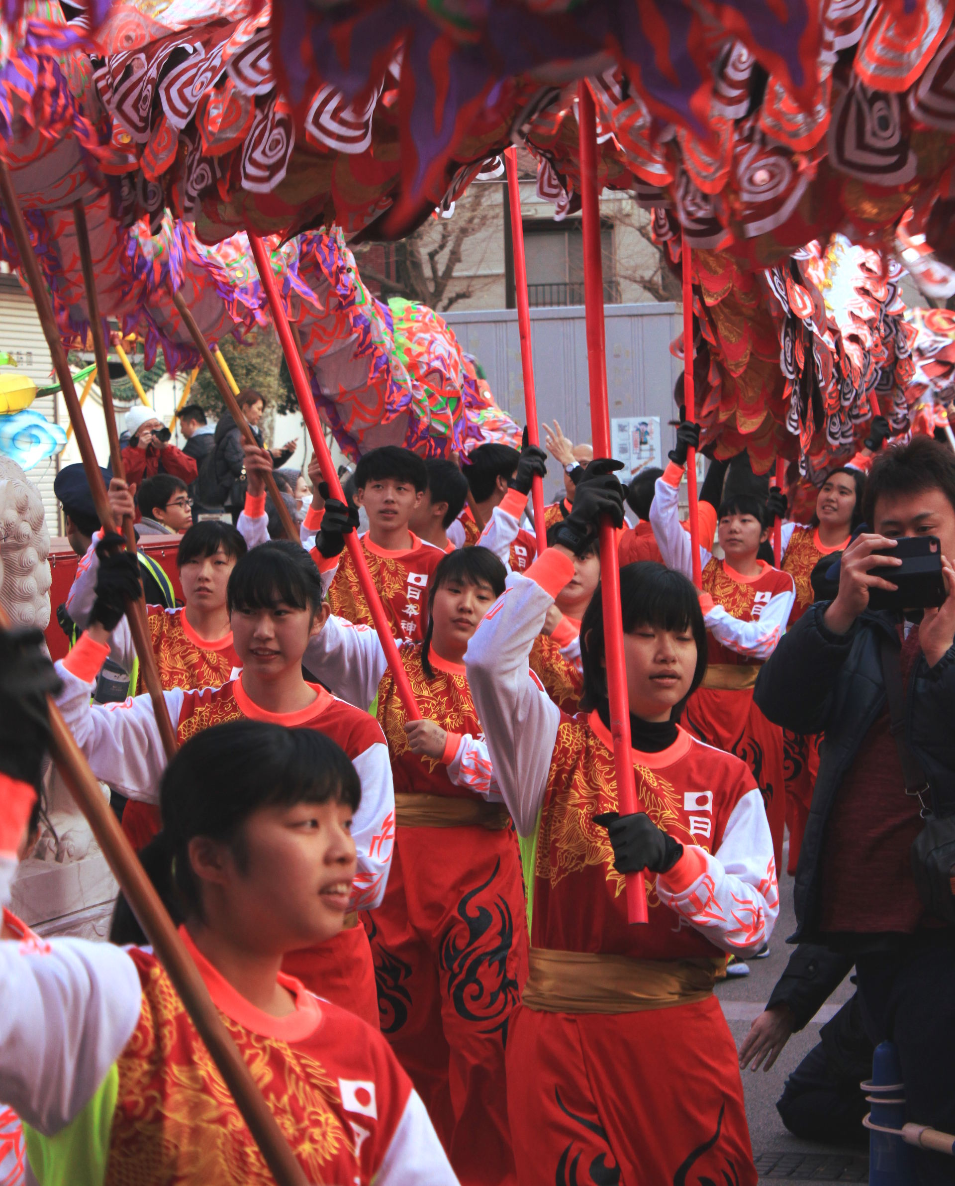 yokohama święto smok dzieci nowy rok parada chinatown chinska dzielnica iglawpodrozy