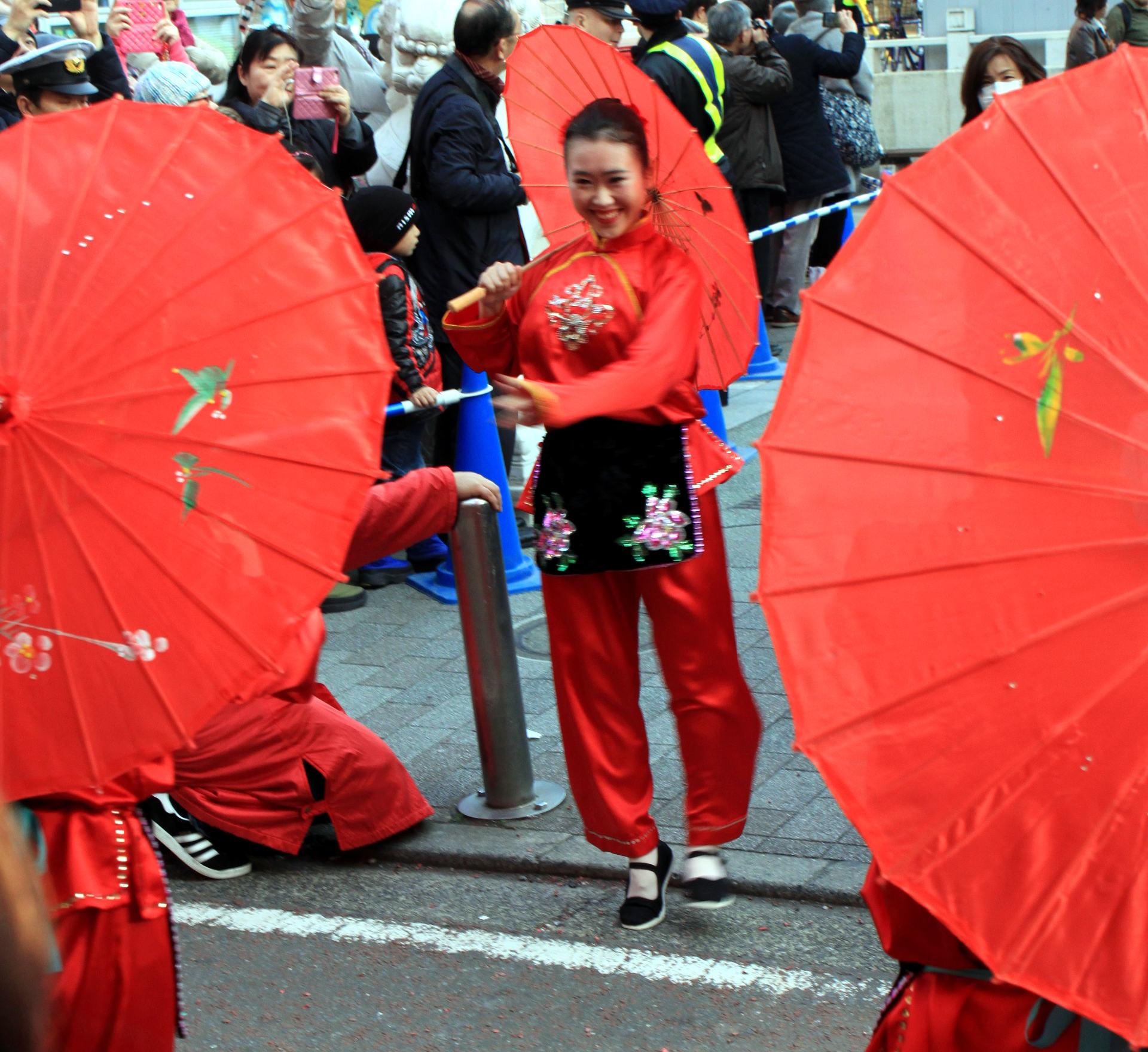 yokohama święto kobiety taniec nowy rok parada chinatown chinska dzielnica iglawpodrozy
