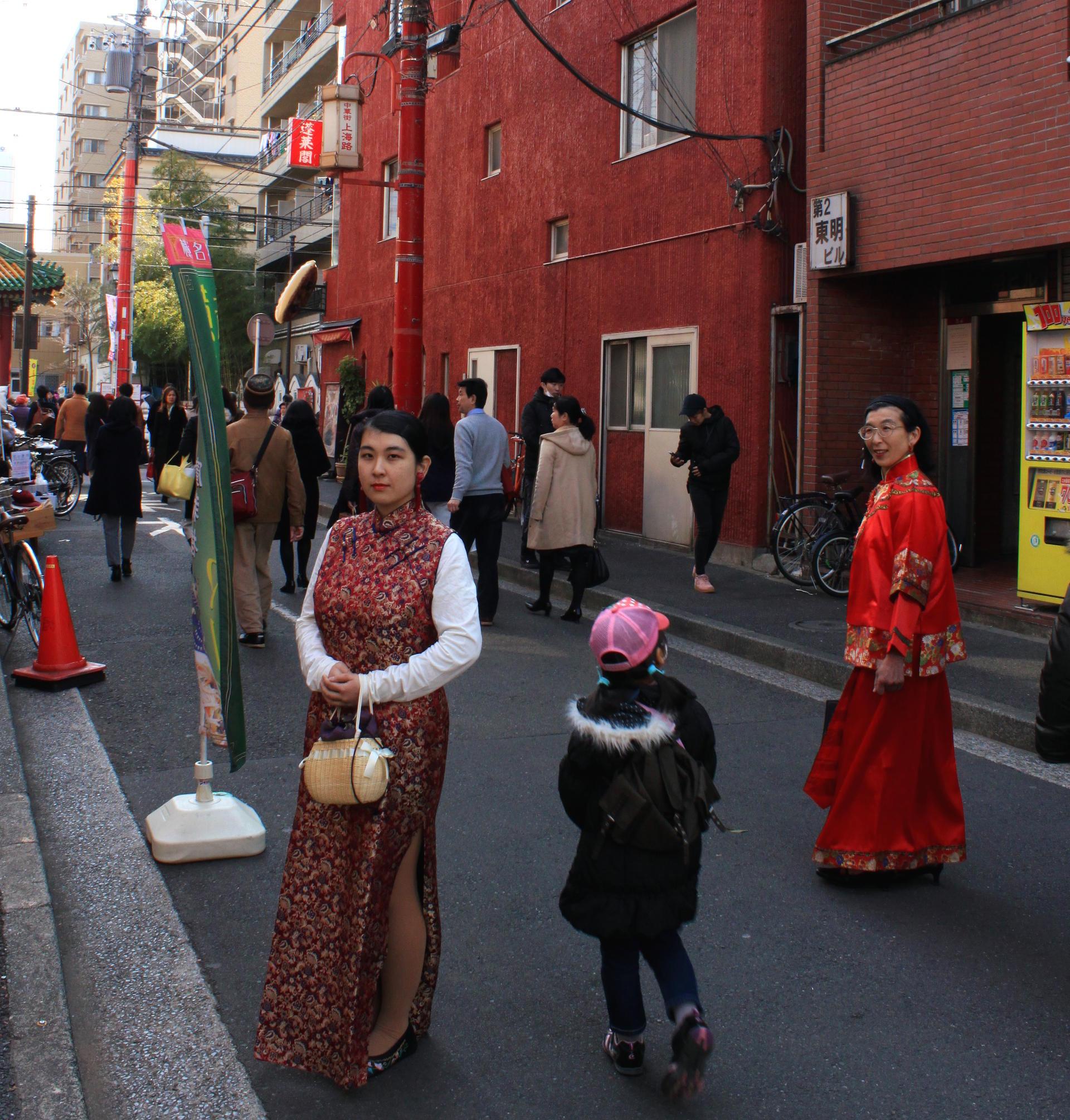 yokohama kobiety chinatown chinska dzielnica iglawpodrozy