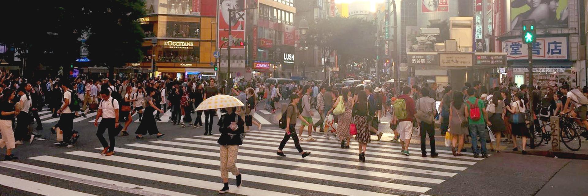 Japonia to niezwykły kraj z bogatym dobytkiem kulturowym. Wszystko tam było dla mnie niezwykle: ludzie, obyczaje, stroje, język oraz jedzenie. Pomimo pozornego tłoku na ulicach, dworcach oraz w metrze, ludzie są 'dziwnie' spokojni. Nigdy dotychczas się z czymś takim nie spotkałam.
