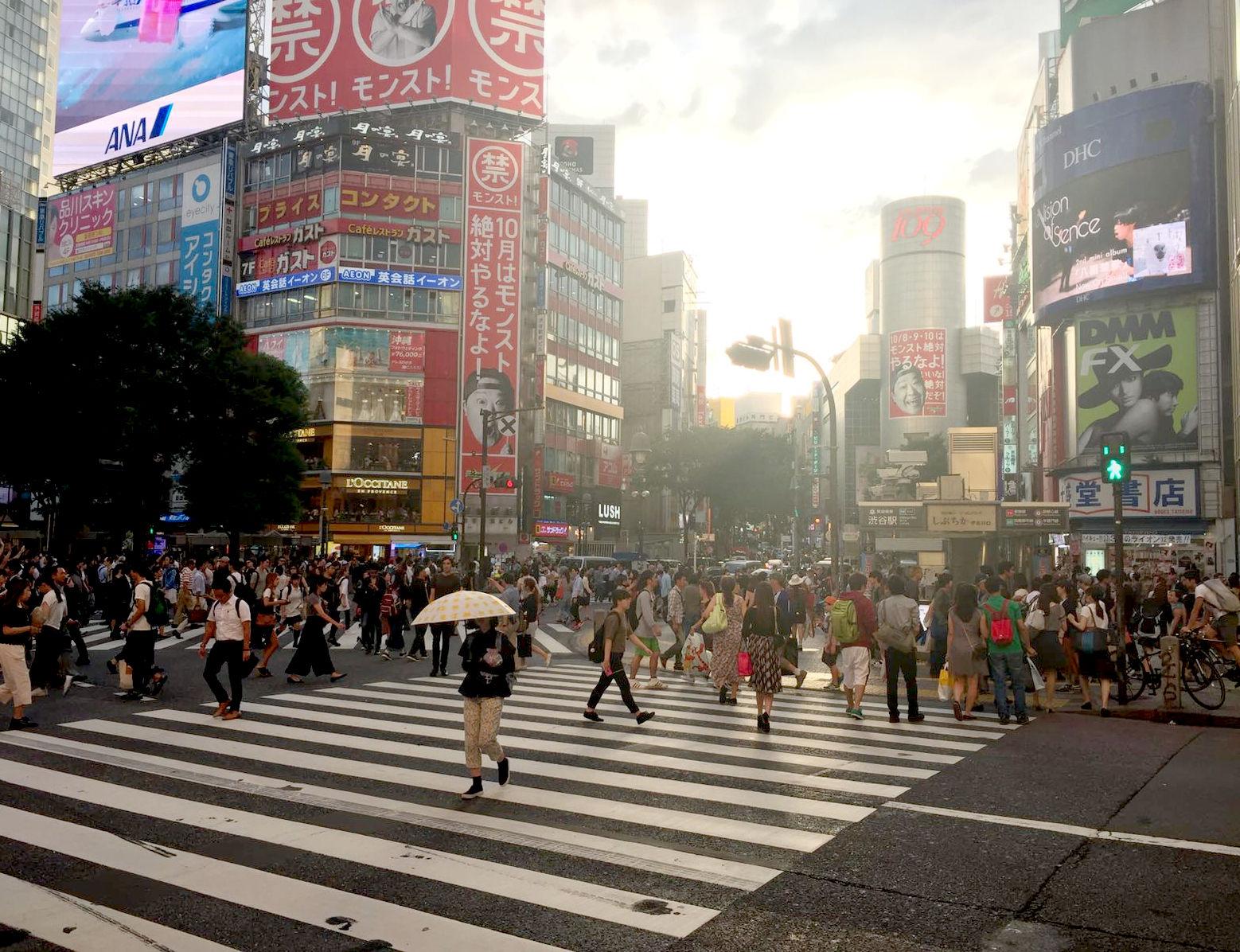 japonia tokio tokyo shibuya ubiór japończycy iglawpodrozy