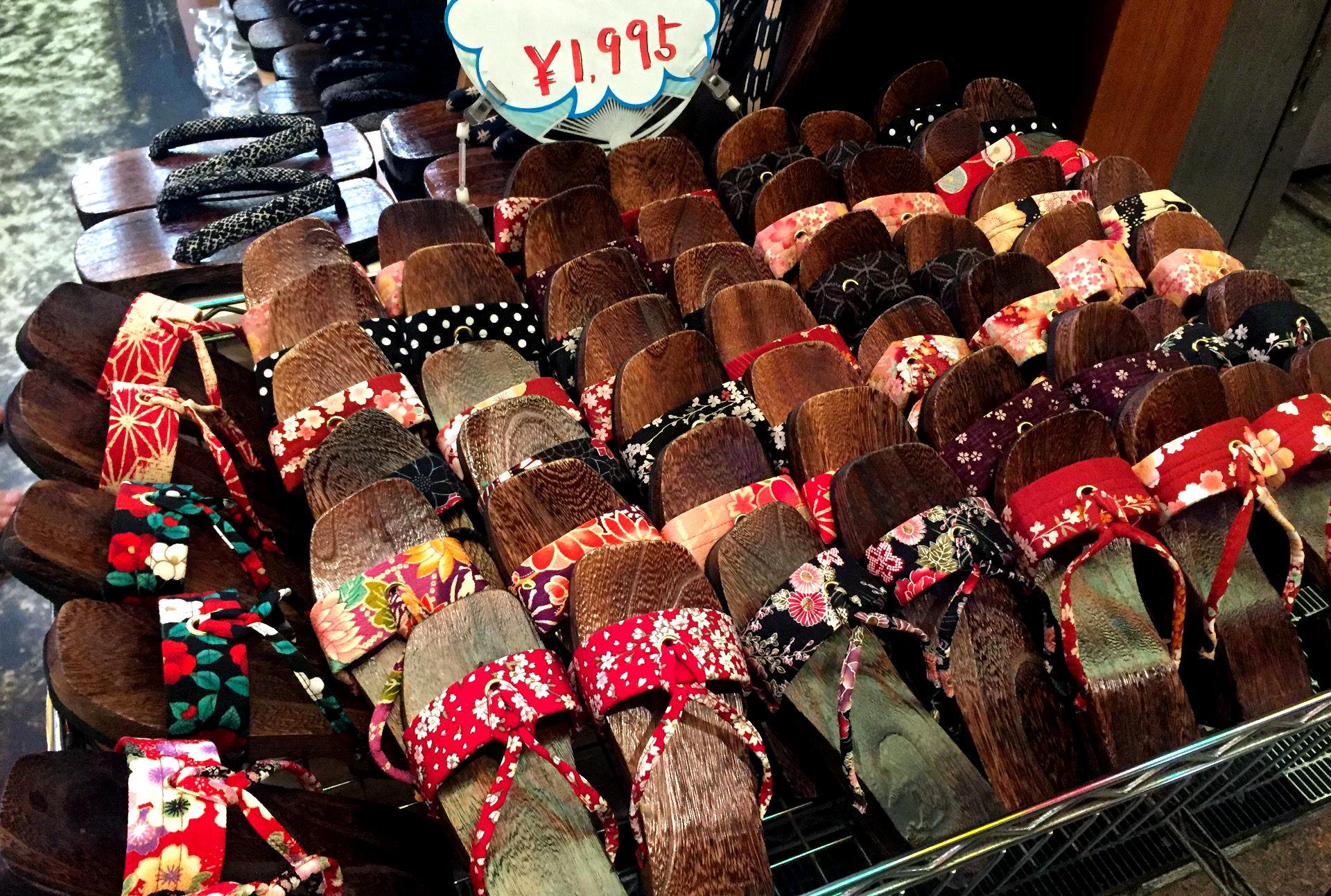 japonia buty klapki geta iglawpodrozy