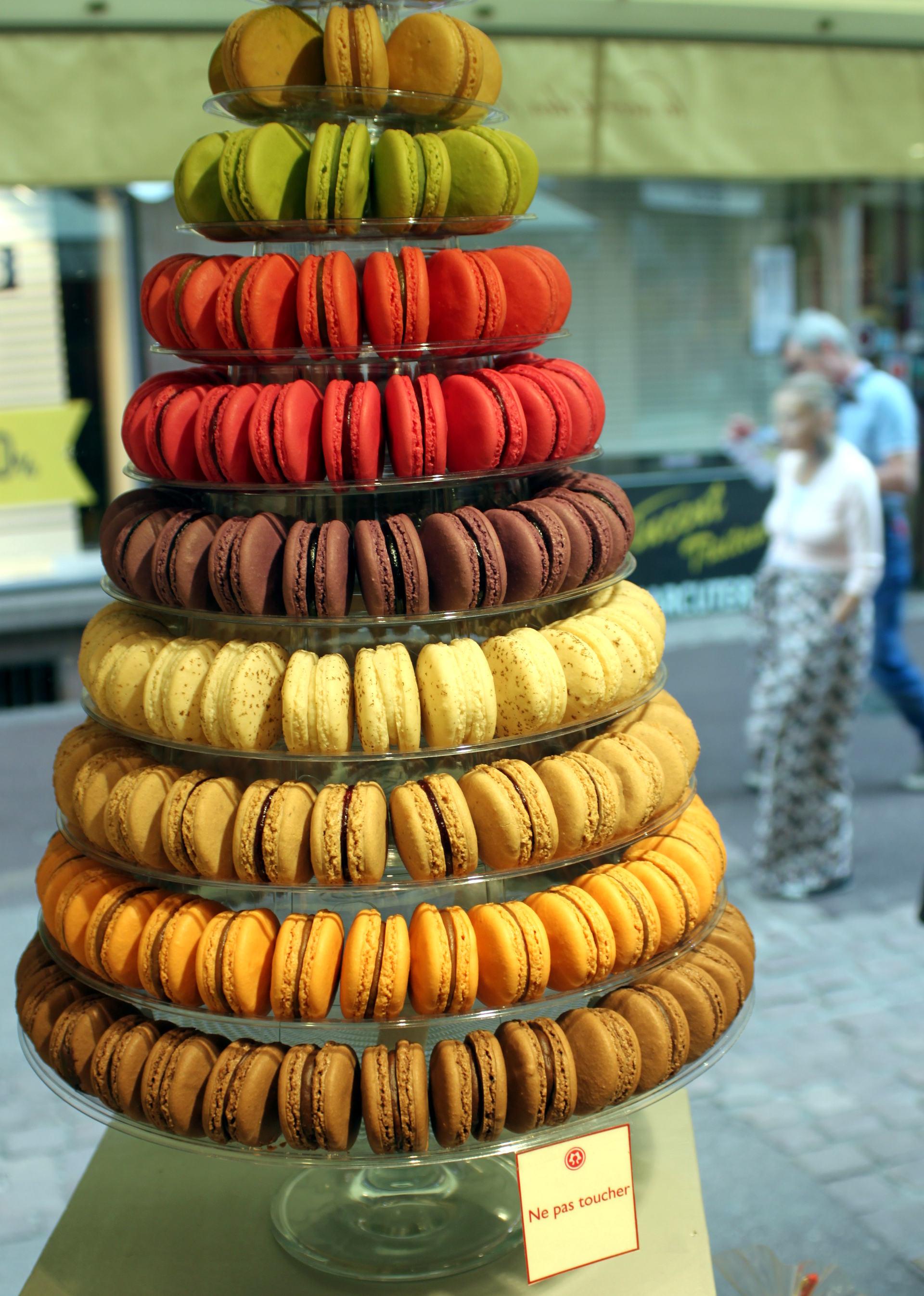 francuskie słodycze: makaroniki iglawpodrozy