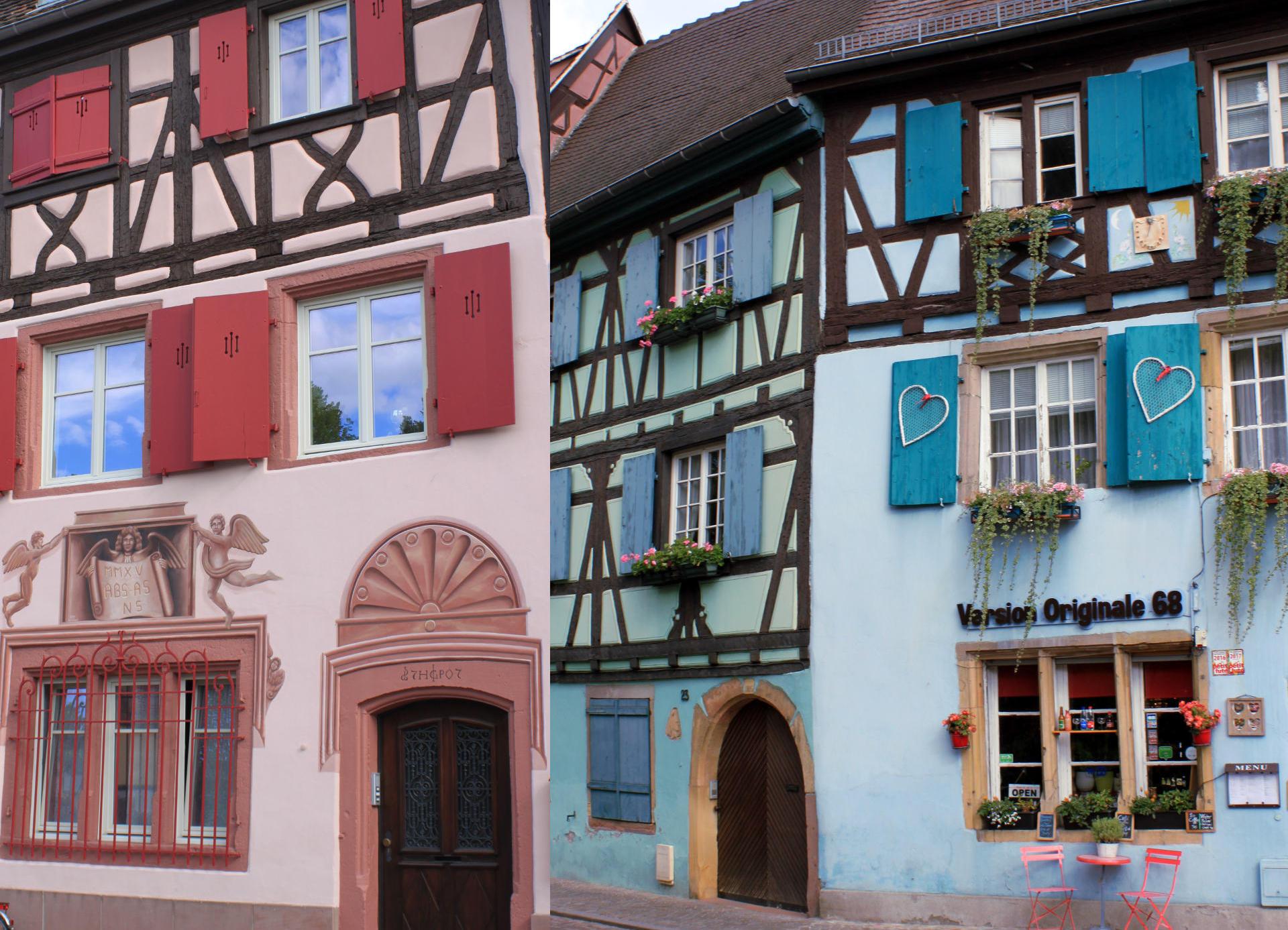 Colmar kolorowe kamienice iglawpodrozy