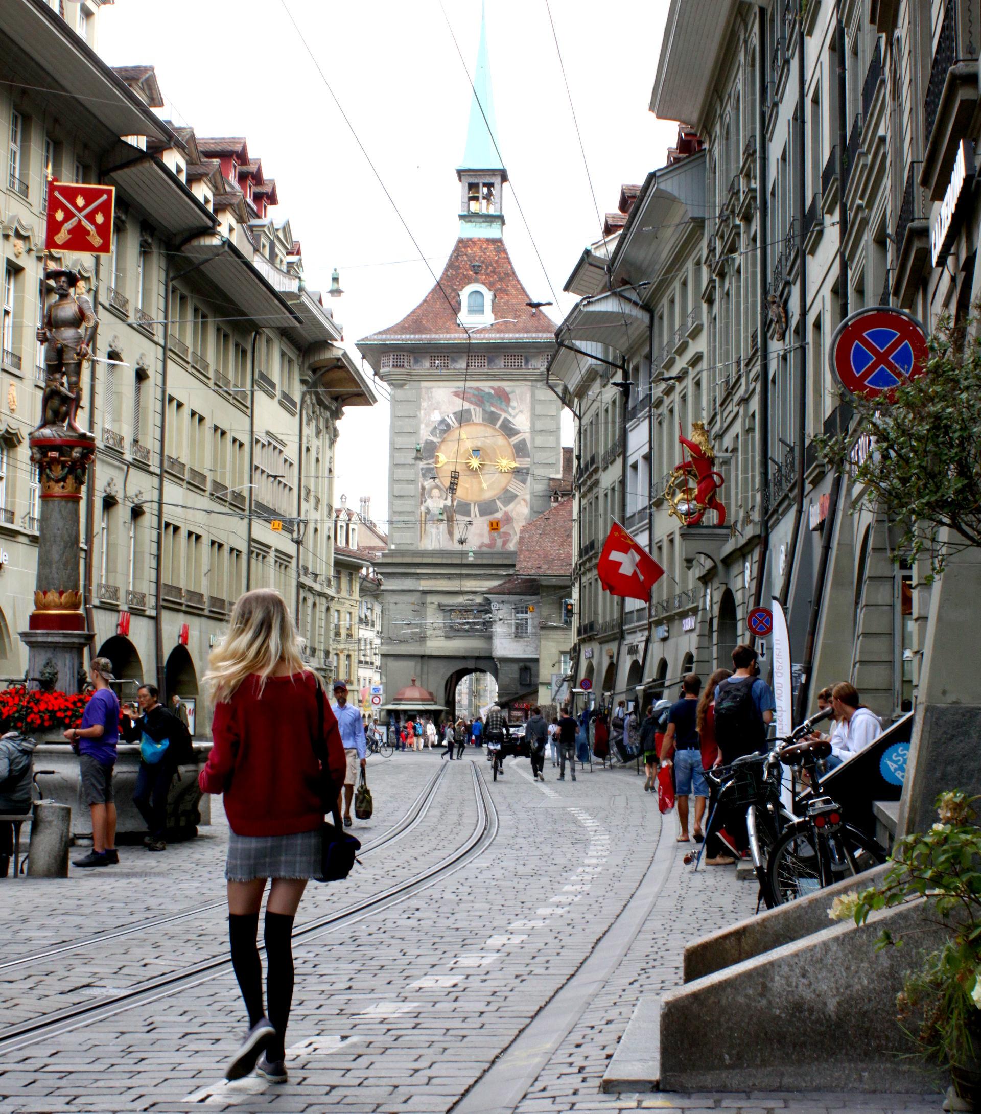 szwajcaria berno bern bramamiasta figurki kamienice zegar staremiasto stolica iglawpodrozy