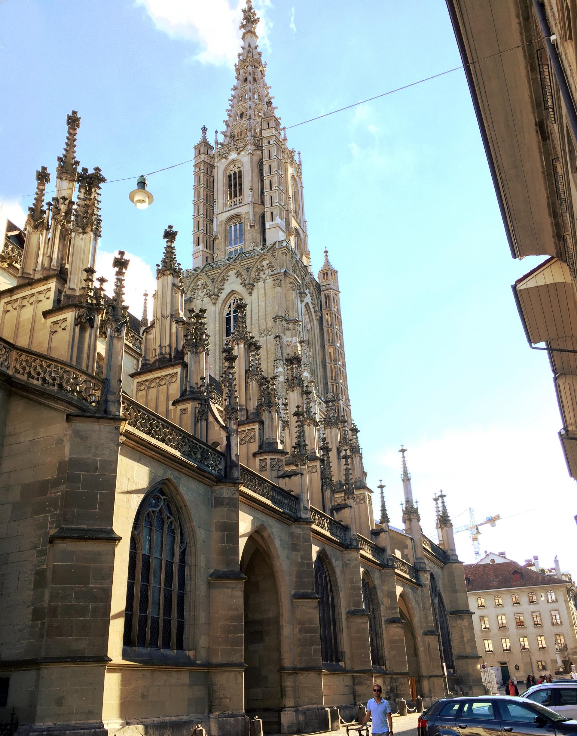 szwajcaria berno bern katedra staremiasto stolica iglawpodrozy