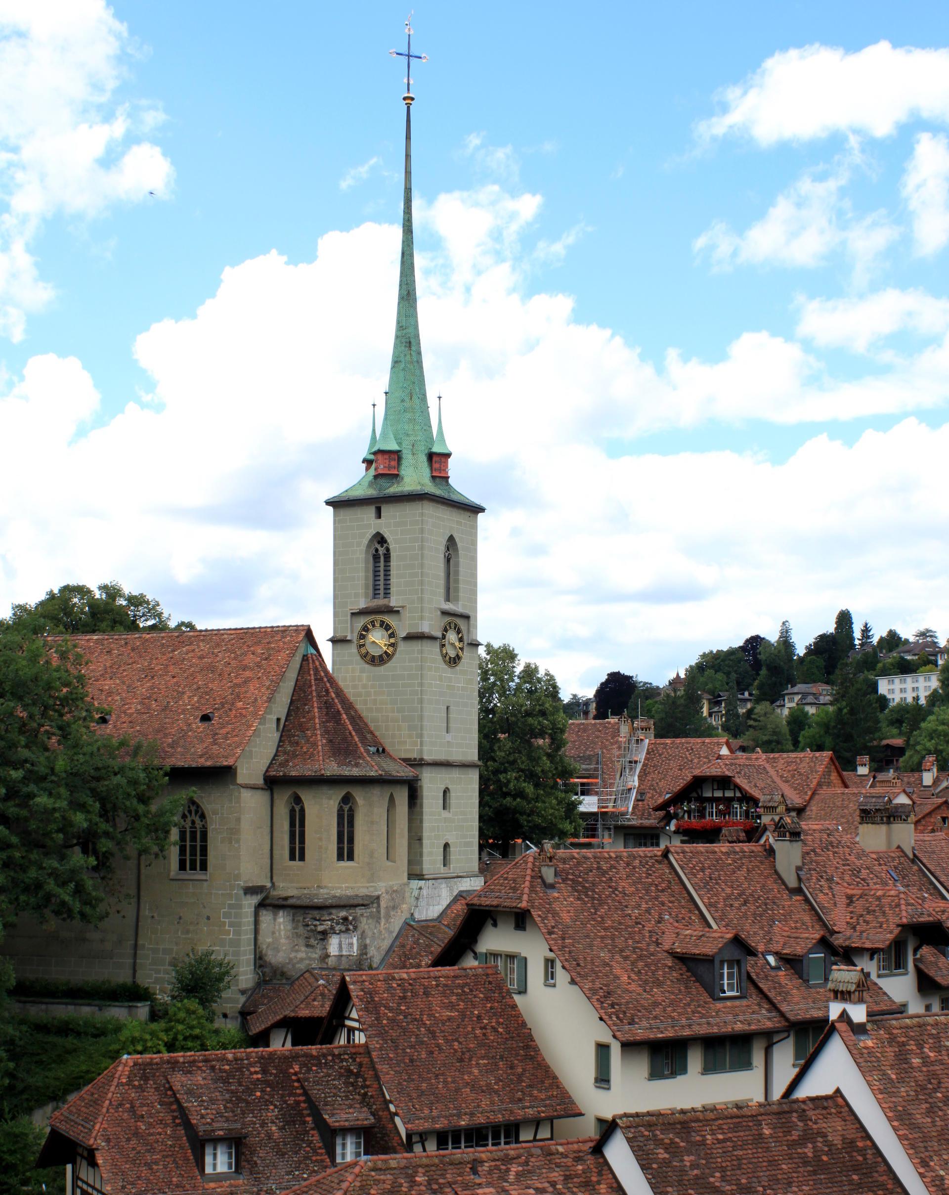 szwajcaria berno bern widok kamienice dachy staremiasto stolica iglawpodrozy