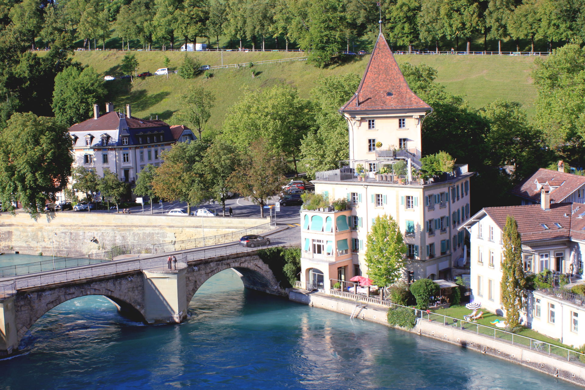 szwajcaria berno bern widok rzekaaare most staremiasto stolica iglawpodrozy