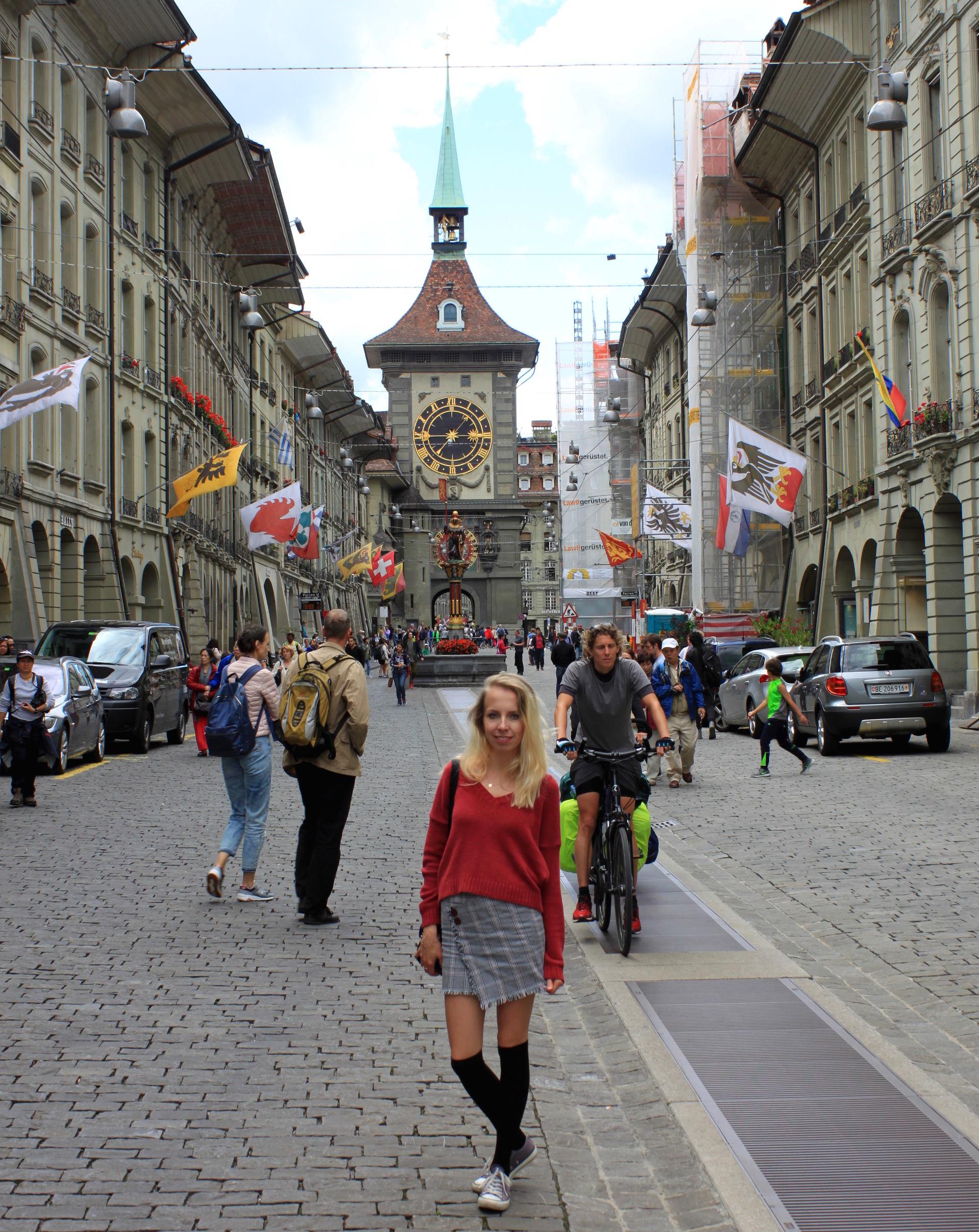 szwajcaria berno bern brama miastakamienice wiezazegarowa zegar staremiasto stolica iglawpodrozy